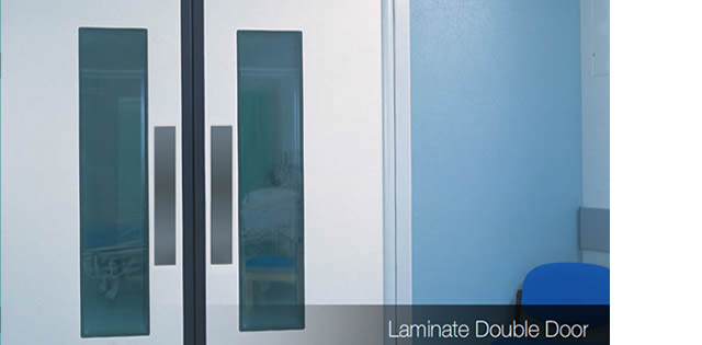 laminate doors for office partitioning